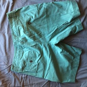Men's Mossimo Teal Chino Shorts